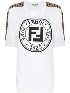 Fendi футболка Fendirama с логотипом