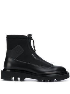 Givenchy ботинки в стиле милитари