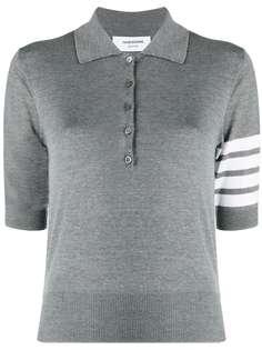 Thom Browne рубашка поло с контрастными полосками