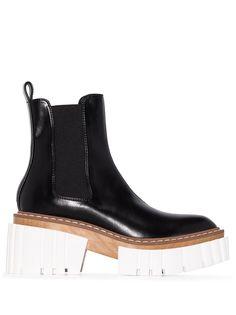 Stella McCartney ботинки челси на массивной подошве
