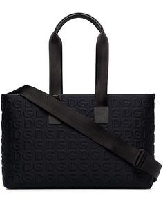 Dolce & Gabbana дорожная сумка с тисненым логотипом