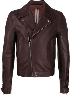 Rick Owens байкерская куртка узкого кроя