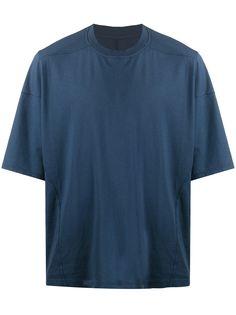 Rick Owens DRKSHDW однотонная футболка свободного кроя