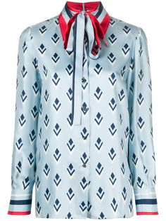 Valentino рубашка с принтом