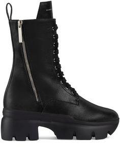 Giuseppe Zanotti ботинки Apocalypse в стиле милитари на платформе