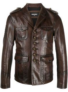 Dsquared2 однобортная куртка