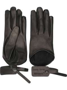 Off-White перчатки с бирками