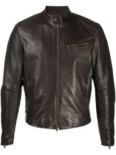 Ajmone байкерская куртка на молнии