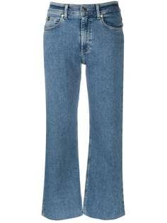 Calvin Klein укороченные джинсы широкого кроя