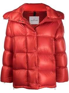 Moncler куртка-пуховик с капюшоном