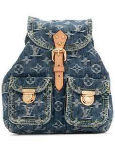 Louis Vuitton джинсовый рюкзак Sac A Dos PM 2006-го года
