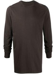 Rick Owens однотонная футболка