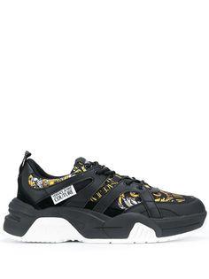 Versace Jeans Couture кроссовки на шнуровке