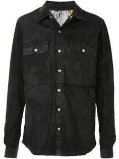 Rick Owens куртка на пуговицах