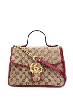 Gucci сумка-тоут GG Marmont размера мини