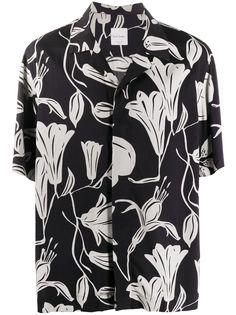 Paul Smith рубашка с короткими рукавами и цветочным принтом