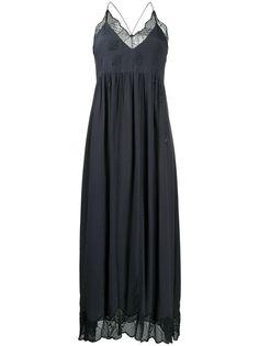 Zadig&Voltaire декорированное платье макси Ralla