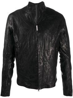 Isaac Sellam Experience куртка с жатым эффектом