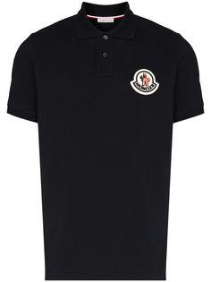 Moncler рубашка поло с логотипом
