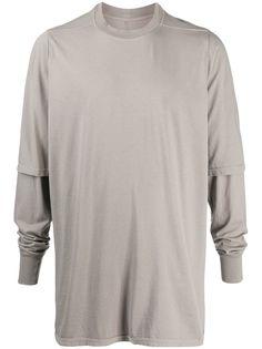 Rick Owens DRKSHDW футболка с двойными рукавами
