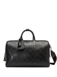 Gucci сумка с тисненым логотипом