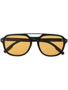 Ermenegildo Zegna солнцезащитные очки-авиаторы