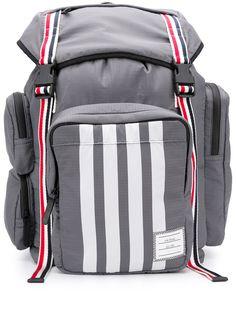 Thom Browne рюкзак из рипстопа с полосками 4-Bar