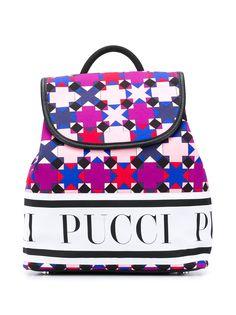 Emilio Pucci Junior рюкзак с принтом