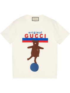Gucci футболка оверсайз Original Gucci с нашивкой