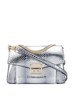 Givenchy сумка-тоут GV3 с эффектом металлик