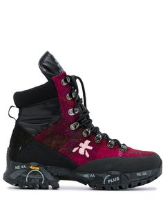 Premiata трекинговые ботинки на шнуровке