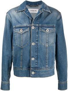 LANVIN джинсовая куртка с приспущенными плечами