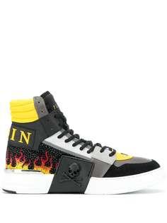 Philipp Plein высокие кроссовки Phantom Kick$