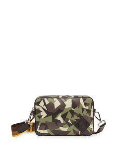 Fendi каркасная сумка среднего размера с принтом Bag Bugs