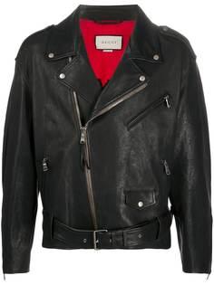 Gucci байкерская куртка