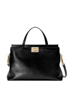 Gucci сумка-тоут с логотипом Interlocking G