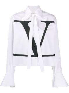 Valentino рубашка с логотипом VLogo
