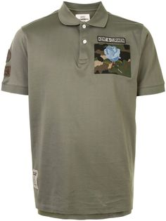 Kent & Curwen рубашка поло с нашивкой
