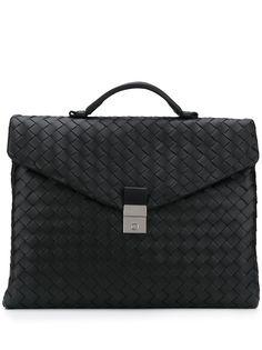 Bottega Veneta портфель с плетением Intrecciato