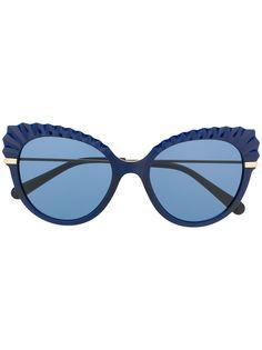 Dolce & Gabbana Eyewear солнцезащитные очки в оправе кошачий глаз