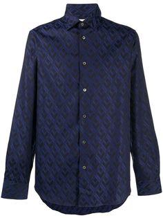 Paul Smith рубашка с геометричным узором