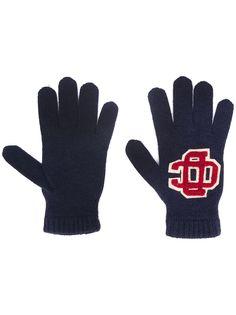 Dsquared2 перчатки с вышитым логотипом