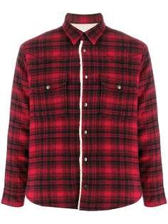 Saint Laurent куртка-рубашка в стиле вестерн