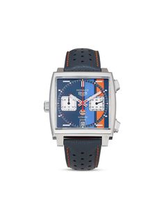Tag Heuer наручные часы Monaco Gulf Special Edition pre-owned 39 мм