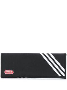adidas плоский клатч с контрастными полосками