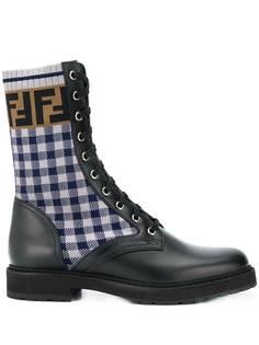 Fendi байкерские ботинки