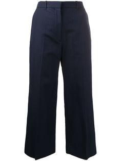 Kenzo укороченные расклешенные брюки