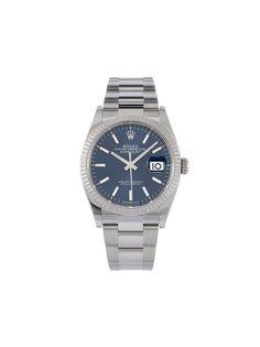 Rolex наручные часы Oyster Perpetual Datejust pre-owned 36 мм 2020-го года