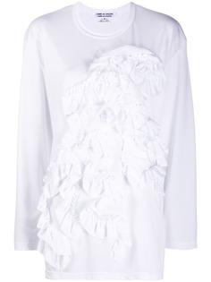 Comme Des Garçons Comme Des Garçons рубашка с длинными рукавами и оборками