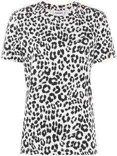 Kenzo футболка с леопардовым принтом